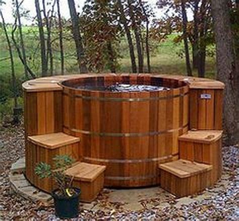 DIY Redwood Hot Tub Plans