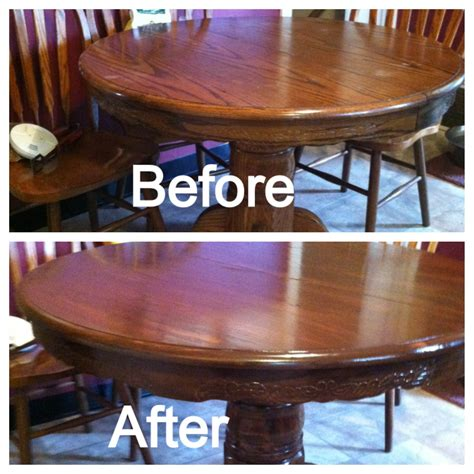 DIY Restain Table