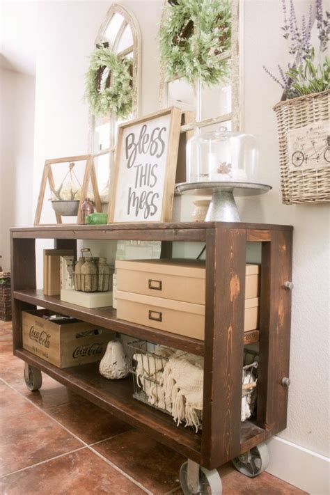 DIY Restoration Hardware Console Table
