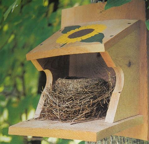 DIY Robin Nest Box