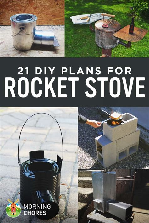 DIY Rocket Heater Plans