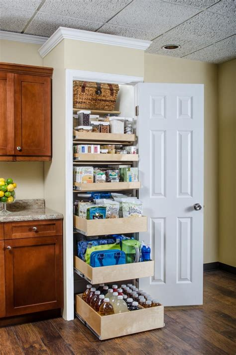 DIY Roll Out Pantry Plans Top