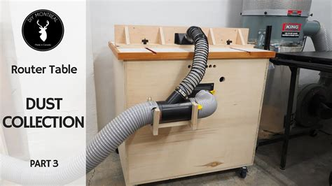 DIY Router Table Dust Collector