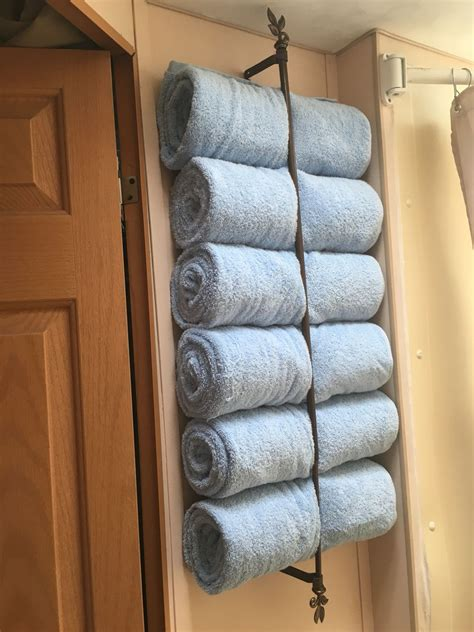 DIY Rv Towel Rack