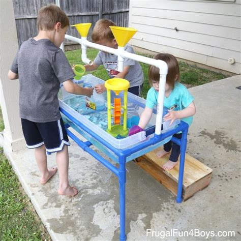 DIY Sand And Water Table Pvc