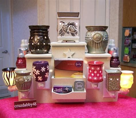 DIY Scentsy Display Stand
