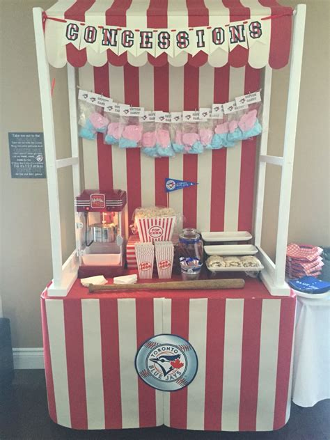 DIY School Concession Stand