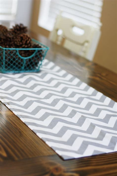 DIY Sewing Table Runner