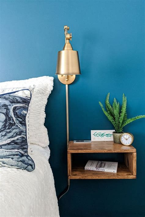 DIY Shelf Nightstand