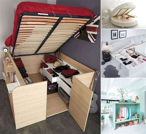 DIY Shelfing In Small Mbedrooms
