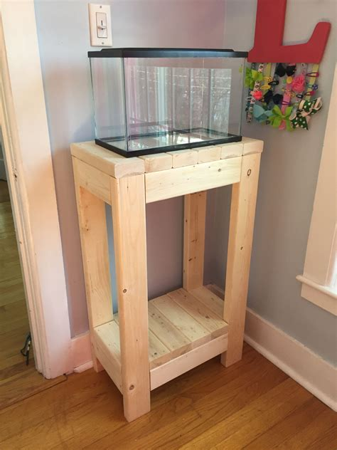 DIY Small Fish Tank Stand
