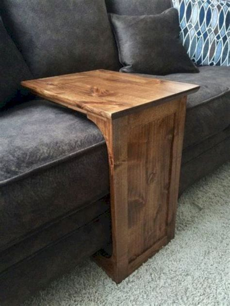 DIY Sofa End Table