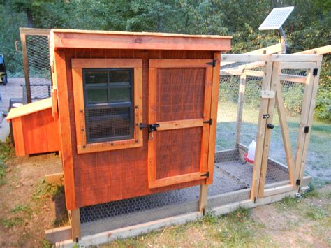 DIY Solar Automatic Chicken Coop Door