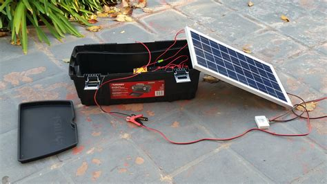 DIY Solar Power Box