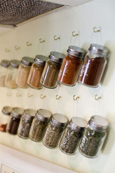 DIY Spice Rack Ideas Pinterest