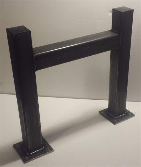 DIY Square Tubing Metal Table Legs For Round Table