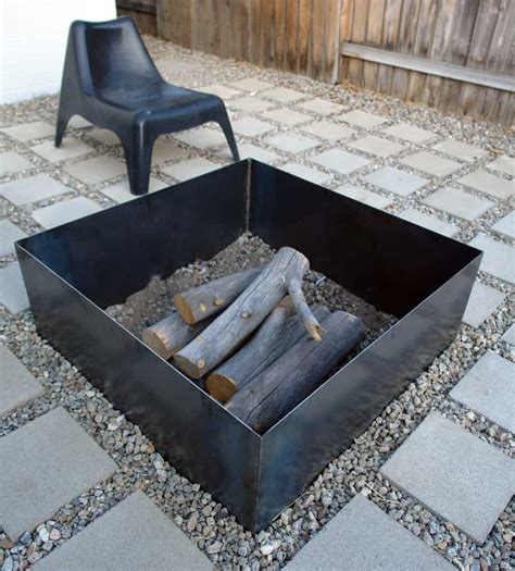 DIY Steel Fire Pit Plans