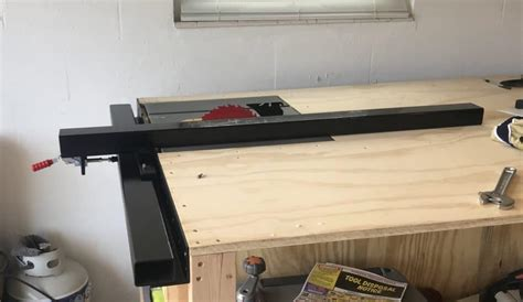 DIY Steel Table Saw Fence