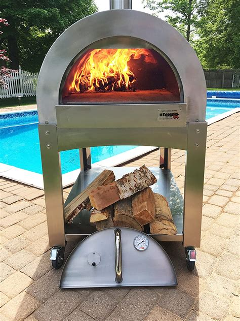 DIY Steel Wood Fired Pizza Oven