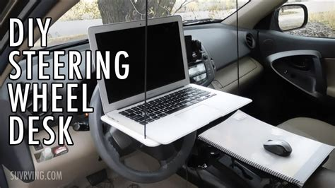 DIY Steering Wheel Desk