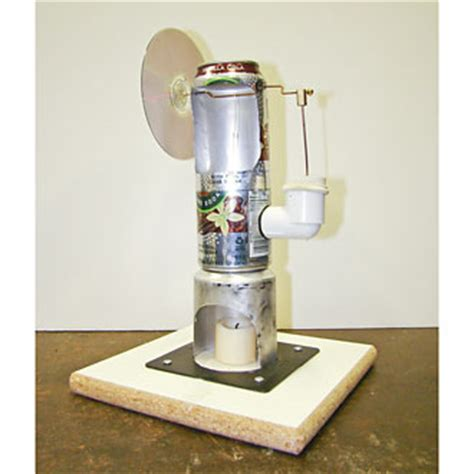 DIY Stirling Engine Generator Plans