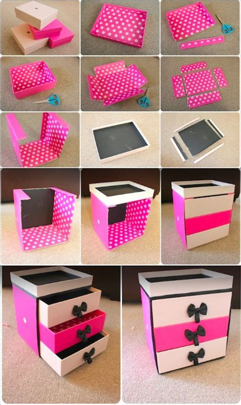 DIY Storage Boxes Pinterest