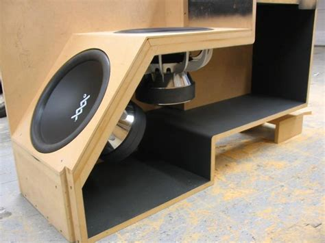 DIY Subwoofer Box Plans