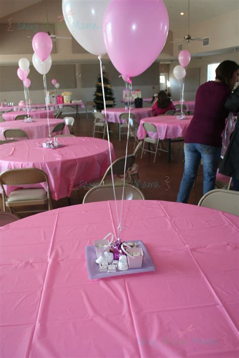 DIY Table Decorations Baby Shower