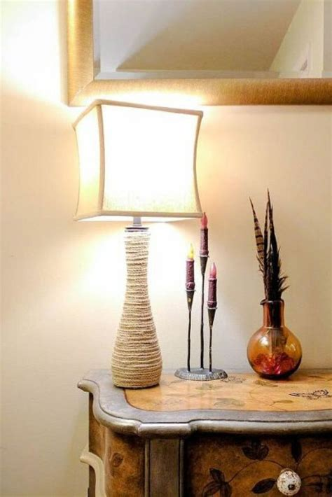 DIY Table Lamp Stand
