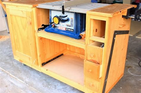 DIY Table Saw Workstation Part 1