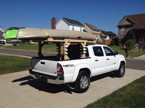 DIY Tacoma Kayak Rack