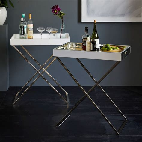 DIY Tall Butler Tray Stand
