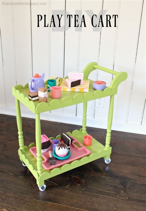 DIY Tea Cart Plans