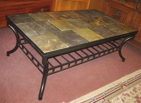 DIY Tile Top End Table