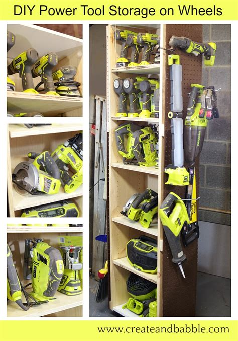 DIY Tool Storage Ideas At Youtube Video