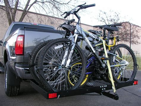 DIY Tow Hitch Bike Rack