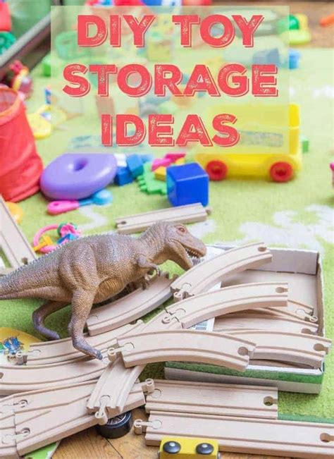 DIY Toy Storage Ideas Pinterest
