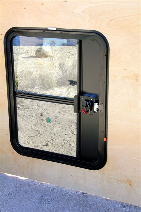 DIY Trailer Door