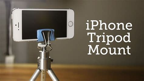 DIY Tripod Stand For Iphone