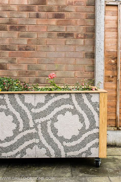 DIY Trough Planter Box