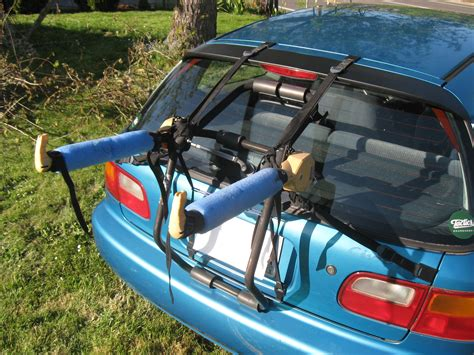 DIY Trunk Bike Rack