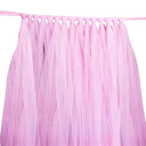 DIY Tulle Skirt For Table
