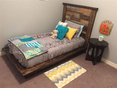 DIY Twin Bed Headboard Ideas
