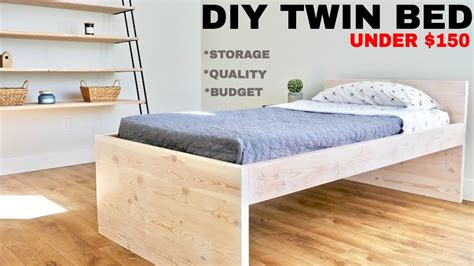 DIY Twin Size Bed Frame