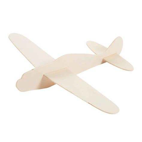 DIY Unfinished Wood Airplane Kits