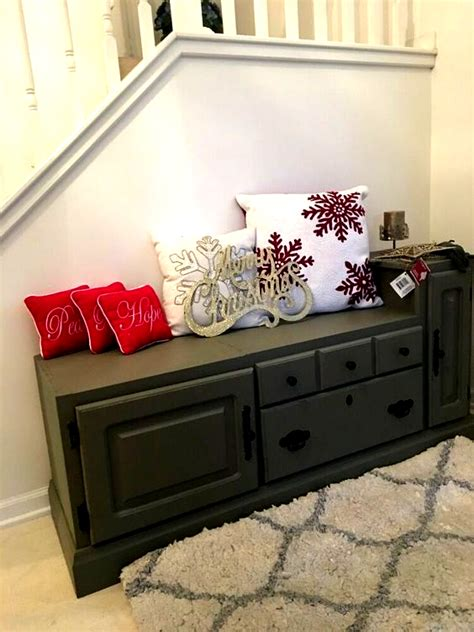 DIY Upcycled Tv Stand