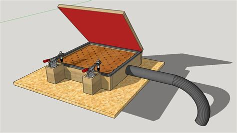 DIY Vacuum Forming Table Plans