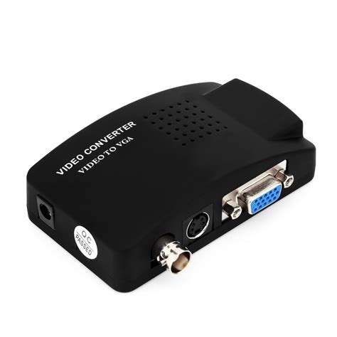 DIY Vga To Svideo Converter Box