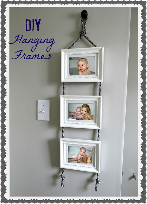 DIY Wall Hanging Picture Frames