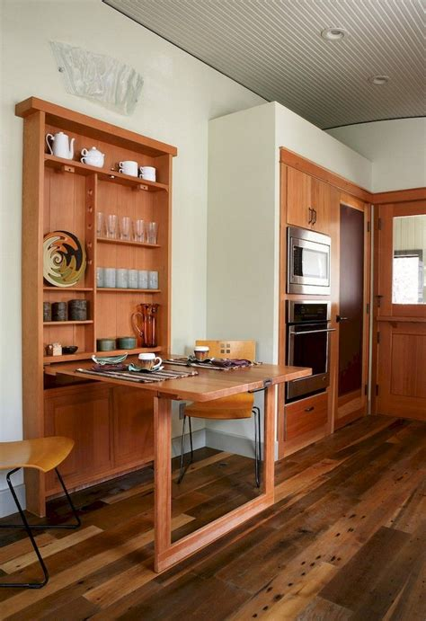 DIY Wall Mounted Dining Table